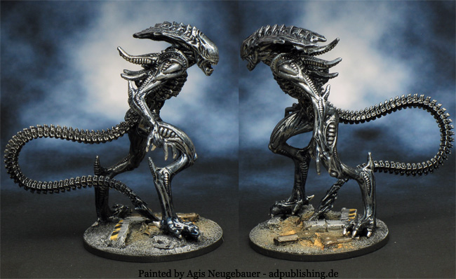 Agis Page of miniature painting and gaming - AvP