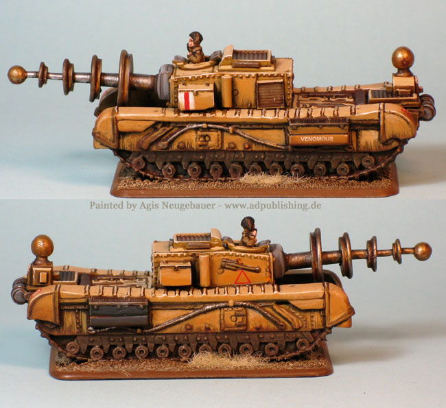 Agis Page of miniature painting and gaming - Experimental Tanks
