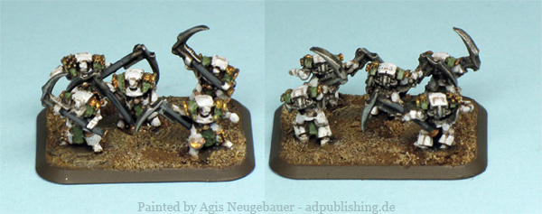 Agis Page of miniature painting and gaming - Death Guard