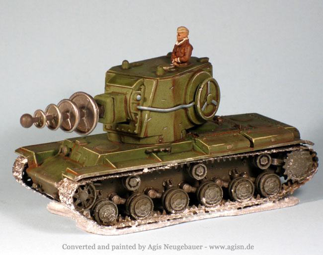 Gear Krieg 20mm KV-2 Tesla - Forum - DakkaDakka | Roll the dice to