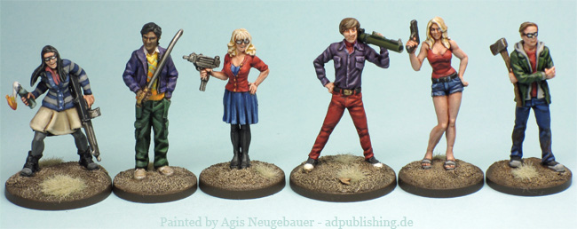 Agis Page Of Miniature Painting And Gaming Zombicide