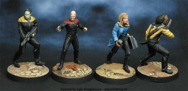 Agis Page of miniature painting and gaming - Star Trek